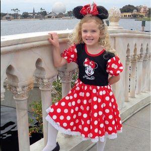 WALT DISNEY WORLD PARKS CLASSIC Minnie dress S.